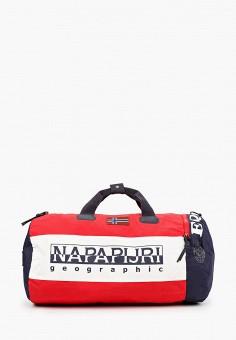 Сумка спортивная, Napapijri, цвет: красный. Артикул: NA154BUJWTD5.