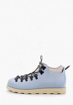 Ботинки, Native, цвет: голубой. Артикул: NA723AUGLVW4. Обувь / Ботинки / Низкие ботинки