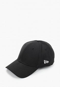 Бейсболка, New Era, цвет: черный. Артикул: NE001CUIKSI8. Аксессуары / Головные уборы