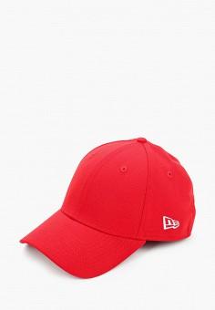 Бейсболка, New Era, цвет: красный. Артикул: NE001CUIKSJ2. Аксессуары / Головные уборы