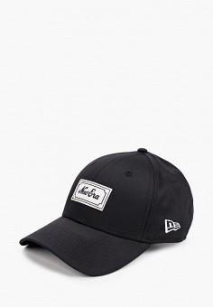 Бейсболка, New Era, цвет: черный. Артикул: NE001CUIKSV7. Аксессуары / Головные уборы