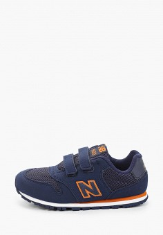 Кроссовки, New Balance, цвет: синий. Артикул: NE007ABHOEI7.