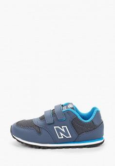 Кроссовки, New Balance, цвет: синий. Артикул: NE007ABHOEI8.