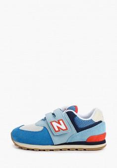 Кроссовки, New Balance, цвет: голубой. Артикул: NE007ABHOEJ3.
