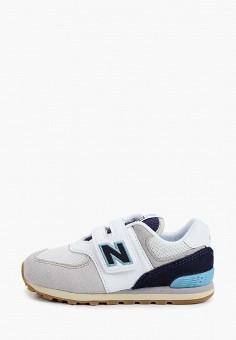 Кроссовки, New Balance, цвет: серый. Артикул: NE007ABHOEJ4.