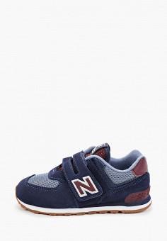 Кроссовки, New Balance, цвет: синий. Артикул: NE007ABHOEJ6.