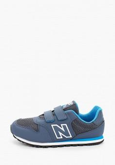 Кроссовки, New Balance, цвет: синий. Артикул: NE007ABHOGA6.