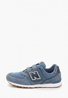 Кроссовки, New Balance, цвет: синий. Артикул: NE007ABHOGB0.