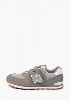 Кроссовки, New Balance, цвет: серый. Артикул: NE007ABHOGB7.