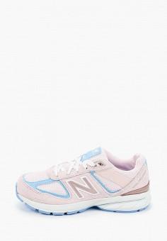 Кроссовки, New Balance, цвет: розовый. Артикул: NE007AGHOFY9.