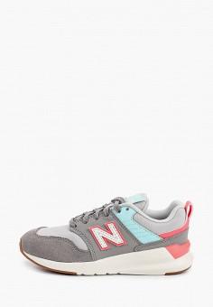 Кроссовки, New Balance, цвет: серый. Артикул: NE007AGHOFZ7.
