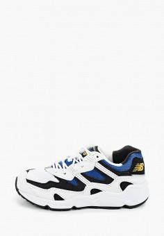 Кроссовки, New Balance, цвет: белый. Артикул: NE007AKHOFY7.