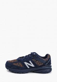 Кроссовки, New Balance, цвет: синий. Артикул: NE007AKHOFY8. Девочкам / Спорт
