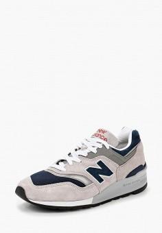 Кроссовки, New Balance, цвет: серый. Артикул: NE007AMBZJU2.