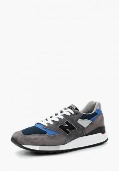 Кроссовки, New Balance, цвет: серый. Артикул: NE007AMBZPJ1.