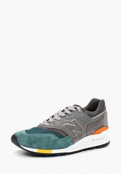 Кроссовки, New Balance, цвет: серый. Артикул: NE007AMBZUY9.