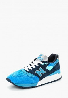 Кроссовки, New Balance, цвет: голубой. Артикул: NE007AMBZUZ0.