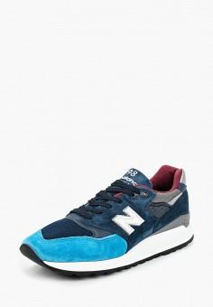 Кроссовки, New Balance, цвет: синий. Артикул: NE007AMCWCO9.