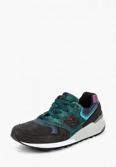 Кроссовки, New Balance, цвет: зеленый. Артикул: NE007AMCWCP1.
