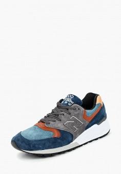 Кроссовки, New Balance, цвет: синий. Артикул: NE007AMCWCP2.