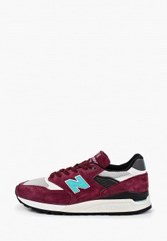 Кроссовки, New Balance, цвет: бордовый. Артикул: NE007AMEAZO7.