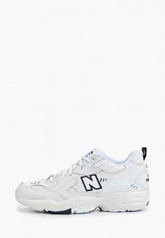 Кроссовки, New Balance, цвет: белый. Артикул: NE007AMFNPV5.