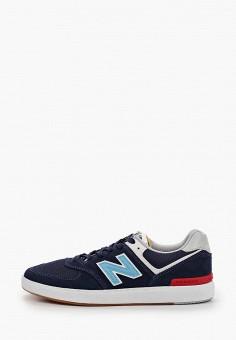 Кеды, New Balance, цвет: синий. Артикул: NE007AMHOLS9.