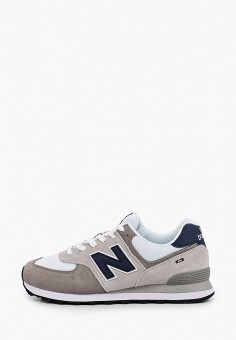 Кроссовки, New Balance, цвет: серый. Артикул: NE007AMHOLY7.