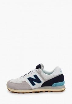 Кроссовки, New Balance, цвет: серый. Артикул: NE007AMHOLZ4.