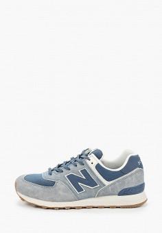 Кроссовки, New Balance, цвет: синий. Артикул: NE007AMHOLZ7.