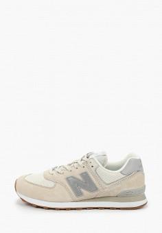 Кроссовки, New Balance, цвет: бежевый. Артикул: NE007AMHOLZ9.