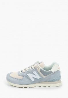 Кроссовки, New Balance, цвет: голубой. Артикул: NE007AMHOMA2.