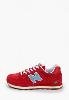 Кроссовки, New Balance, цвет: красный. Артикул: NE007AMHOMA3.