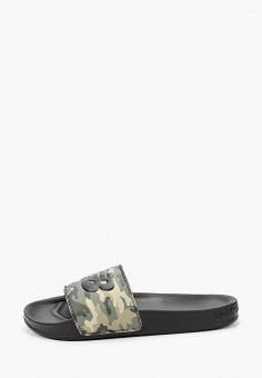 Сланцы, New Balance, цвет: черный. Артикул: NE007AMHOQT6.