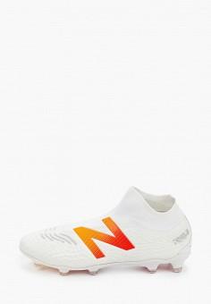 Бутсы, New Balance, цвет: белый. Артикул: NE007AMHOQU3.