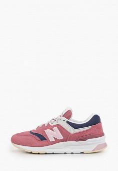 Кроссовки, New Balance, цвет: розовый. Артикул: NE007AWHOQY9.