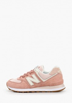 Кроссовки, New Balance, цвет: розовый. Артикул: NE007AWHORB3.