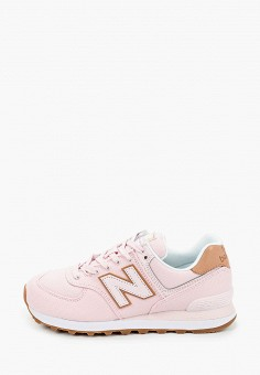 Кроссовки, New Balance, цвет: розовый. Артикул: NE007AWHORB4.