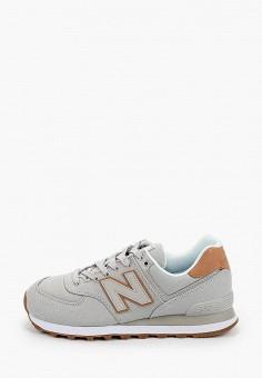 Кроссовки, New Balance, цвет: серый. Артикул: NE007AWHORB6.