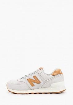 Кроссовки, New Balance, цвет: серый. Артикул: NE007AWHORC4.