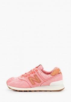 Кроссовки, New Balance, цвет: розовый. Артикул: NE007AWHORC5.