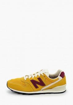Кроссовки, New Balance, цвет: желтый. Артикул: NE007AWHORD0.