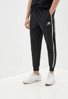 Брюки спортивные, New Balance, цвет: черный. Артикул: NE007EMHOSG9. Одежда / Брюки / Спортивные брюки