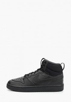 Кеды, Nike, цвет: черный. Артикул: NI464ABFMDW1. Мальчикам / Обувь / Кроссовки и кеды