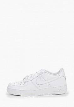 Кеды, Nike, цвет: белый. Артикул: NI464ABJLK74. Мальчикам / Обувь / Кроссовки и кеды