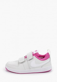 Кеды, Nike, цвет: белый. Артикул: NI464AGHVVE3. Девочкам / Спорт