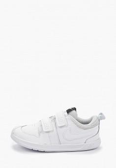 Кеды, Nike, цвет: белый. Артикул: NI464AKFMDC7. Девочкам / Спорт