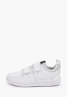 Кроссовки, Nike, цвет: белый. Артикул: NI464AKFMDJ4. Мальчикам / Обувь / Кроссовки и кеды