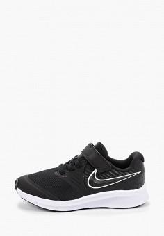 Кроссовки, Nike, цвет: черный. Артикул: NI464AKFMDK4. Мальчикам / Обувь / Кроссовки и кеды