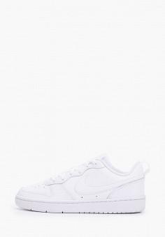 Кеды, Nike, цвет: белый. Артикул: NI464AKFNBH8. Мальчикам / Обувь / Кроссовки и кеды